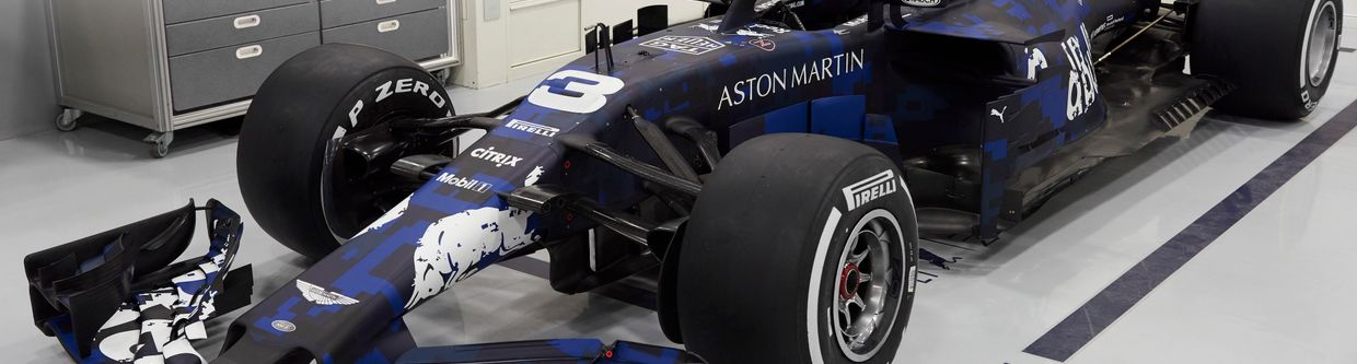 Here's A First Look At The 2018 Red Bull RB14 And Its Awesome Testing Livery