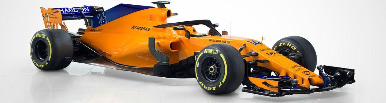McLaren Reveals Its 2018 F1 Car In The Famous Papaya Orange