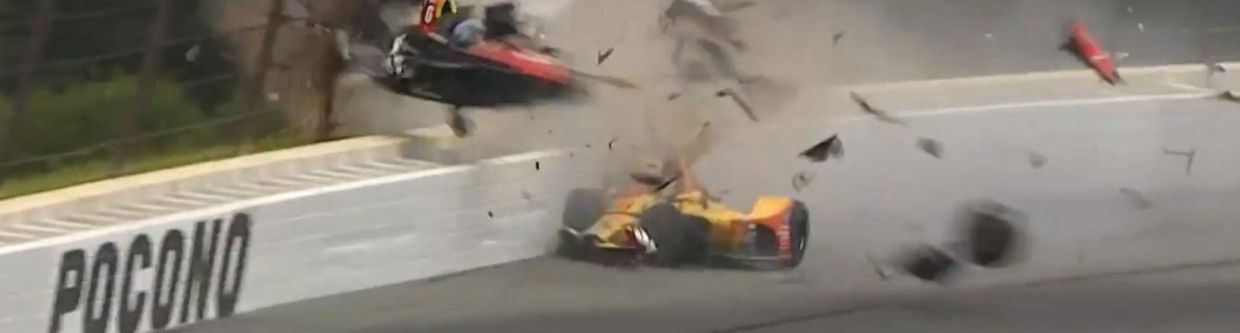 Wickens 'Awake And Alert' After Terrifying IndyCar Crash