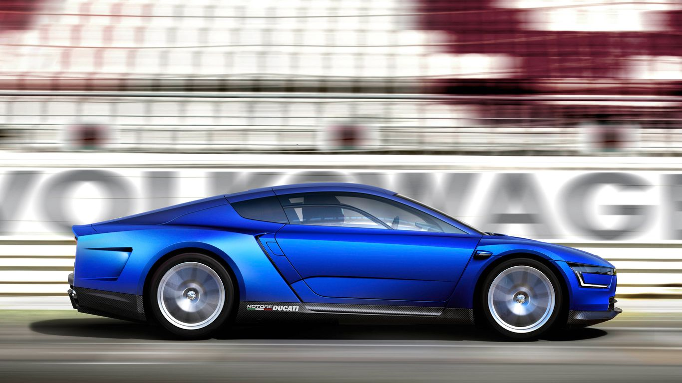 Give Your Desktop A Futuristic Makeover With These VW XL Sport