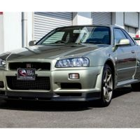 One of my favorite versions of the R34 Skyline GTR  The V