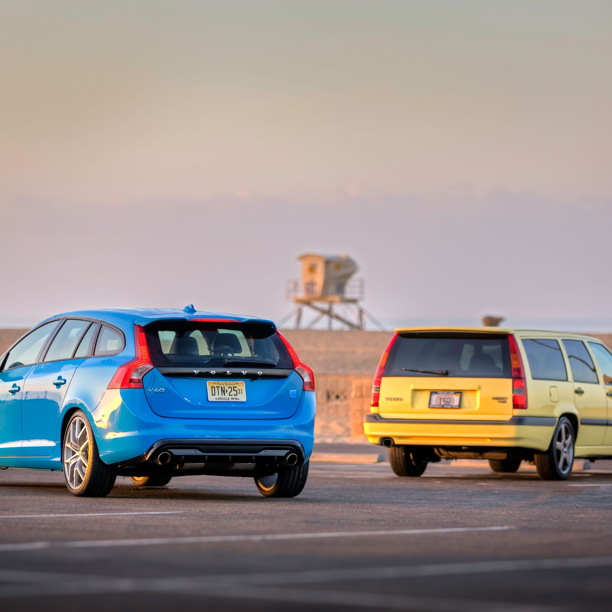 Volvo Car Wallpaper: These Incredible 850 T5-R/V60 Polestar Pics Are The