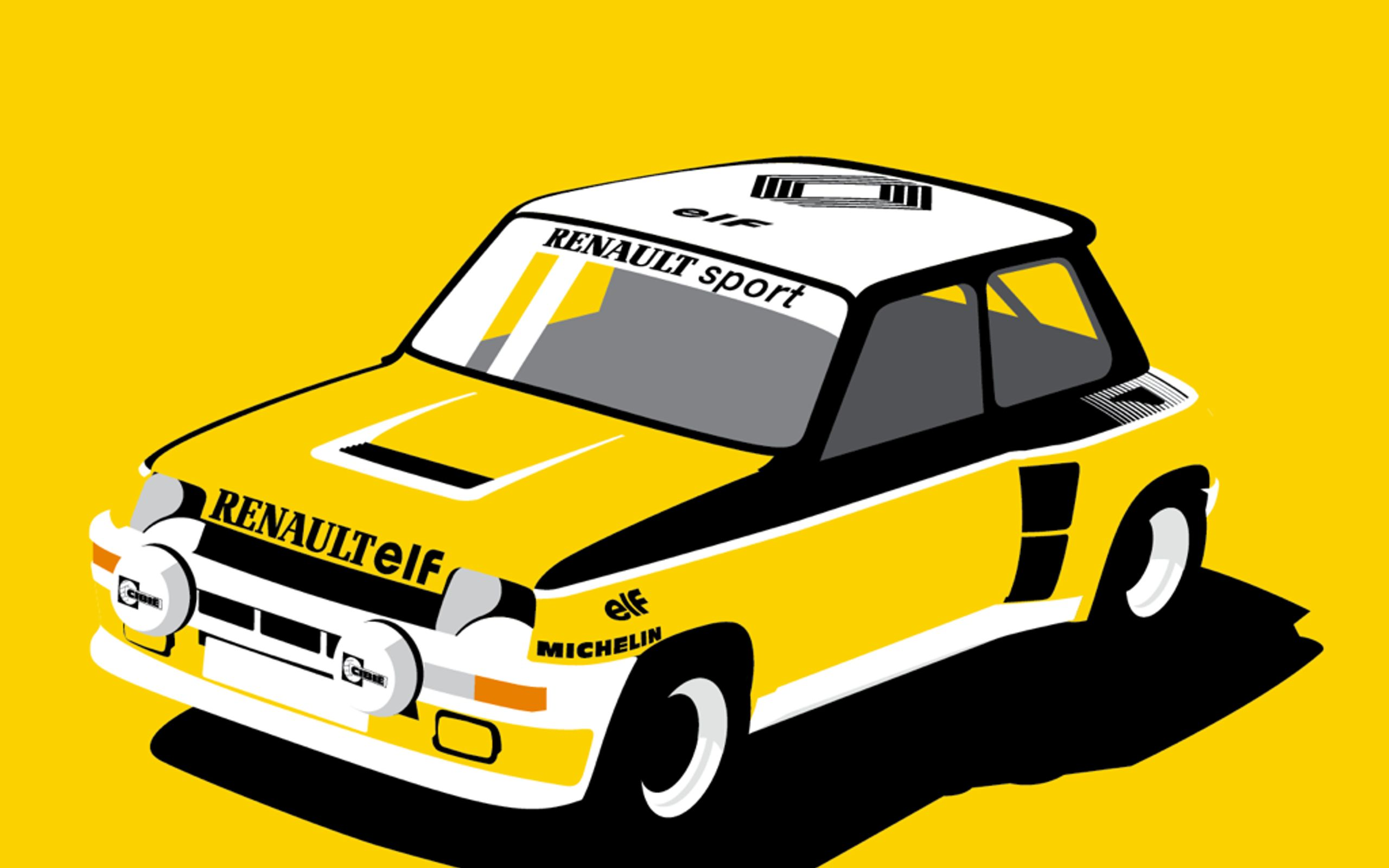 Charlie Whiting Wallpaper: Brighten Up Your Week With This Awesome Renault 5 Turbo