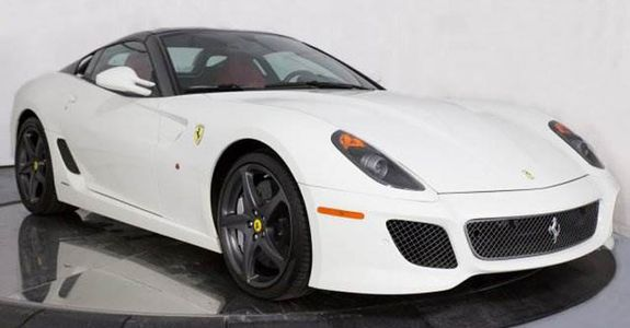 One Of Just 80 Units Of The Ferrari 599 Sa Aperta Produced