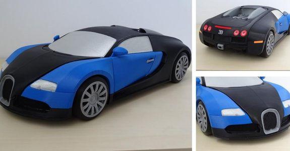 3D Printed Bugatti Veyron