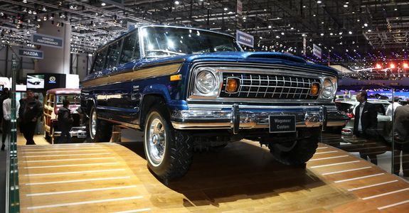 Jeep Brings A Gorgeous 1963 Wagoneer To Geneva