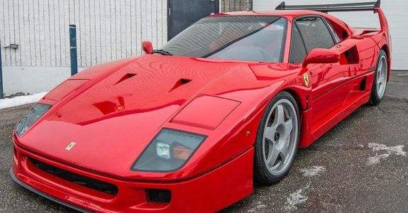 Ferrari F40 LM spec for sale in my City (Calgary,AB)