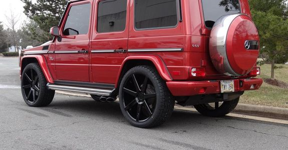 Bloody Red G63