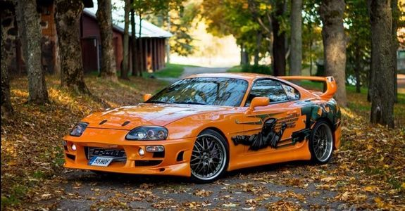 Fast And The Furious Cars For Sale: Fully Built Fast And Furious Replica Supra For Sale In Estonia
