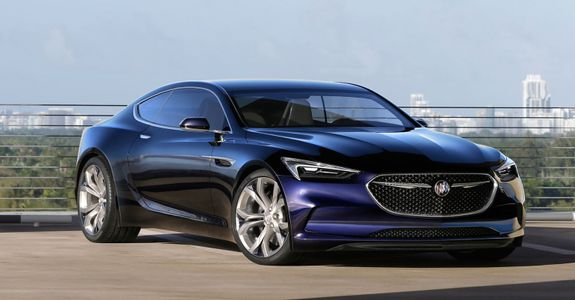 Buick Stole The Show At This Year S Detroit Auto Show When It Showed Off One Of The Best Looking Coupes We D Seen In Years The Buick Avista Concept
