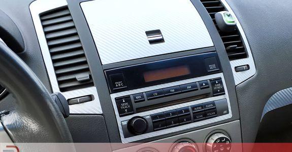 2005 Nissan Altima Rdash Silver Carbon Fiber Dash Kit