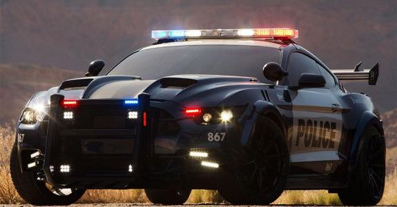 Barricade Ford Mustang Police Interceptor Introduced For