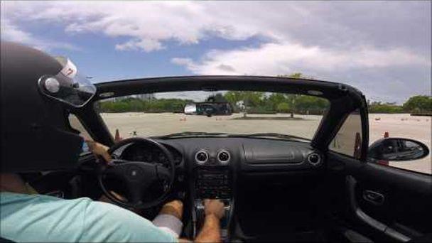 Benjamin Nenert On Car Throttle