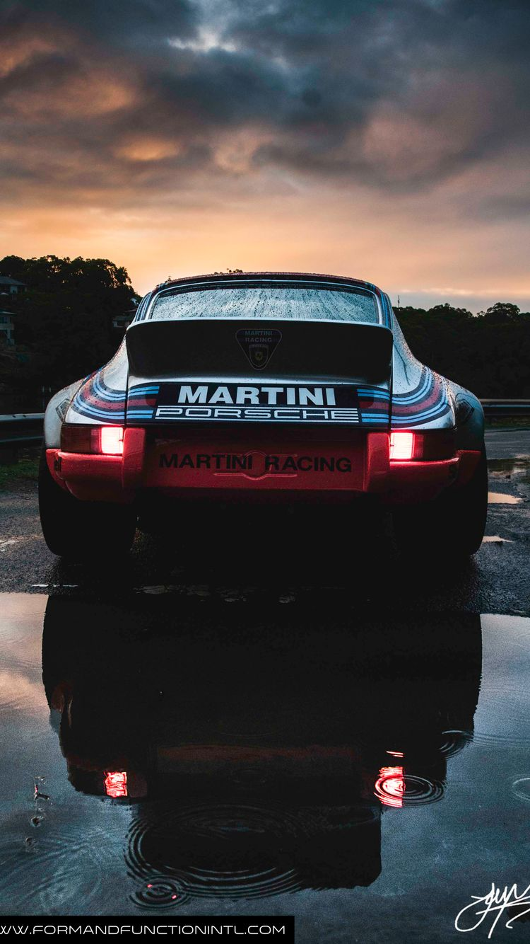 This Gorgeous Martini Racing Porsche 911 RSR Should Be Your New