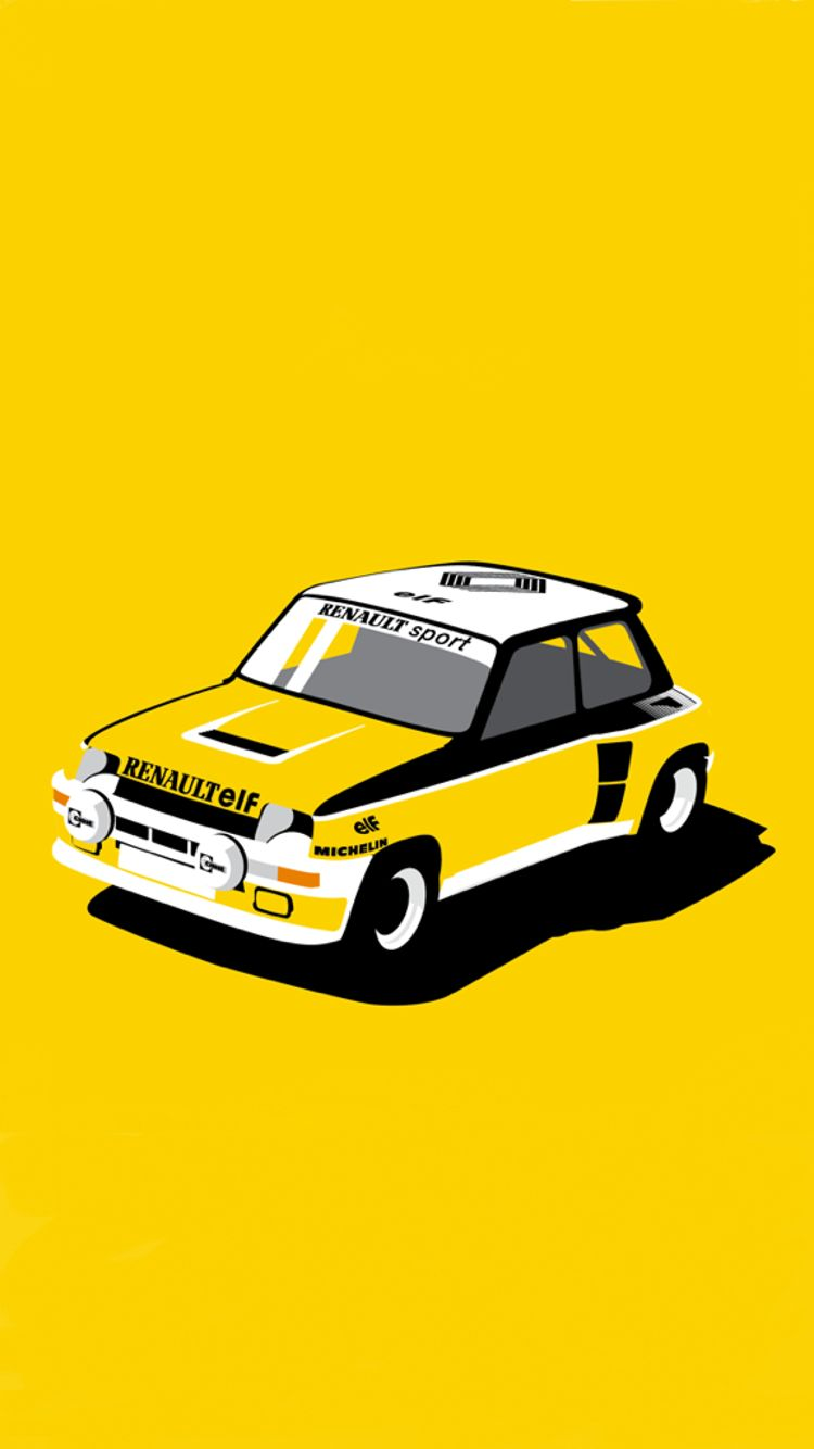 Brighten Up Your Week With This Awesome Renault 5 Turbo ...