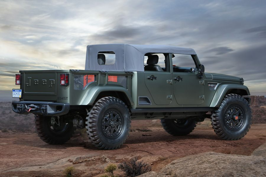 The Next Jeep Wrangler Will Look Something Like The Butch Crew Chief Concept