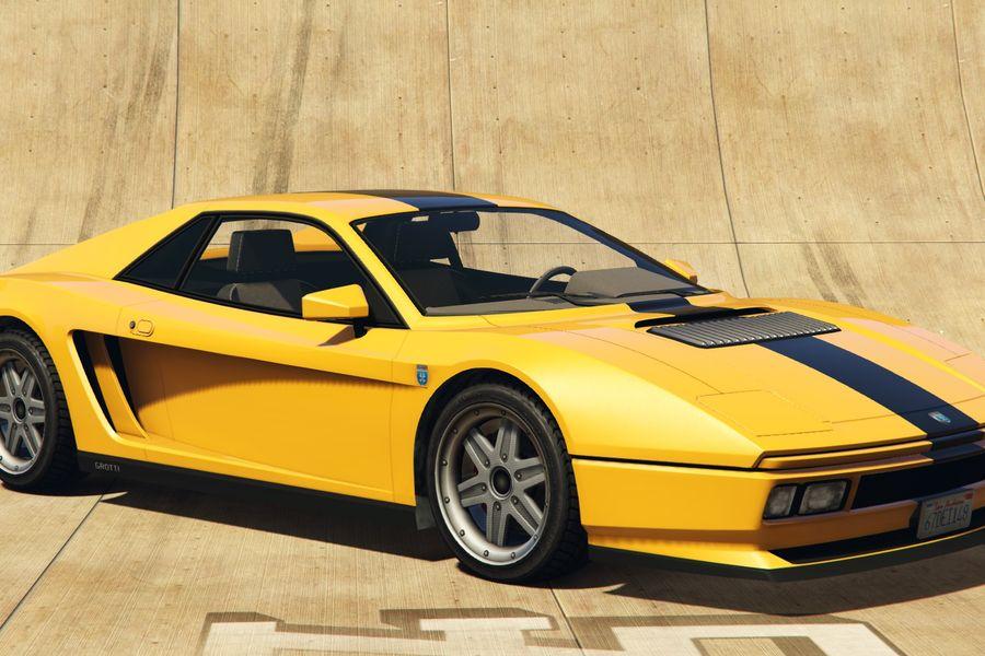 Gta Online S New Car Is A Stunning Ferrari Testarossa Lookalike