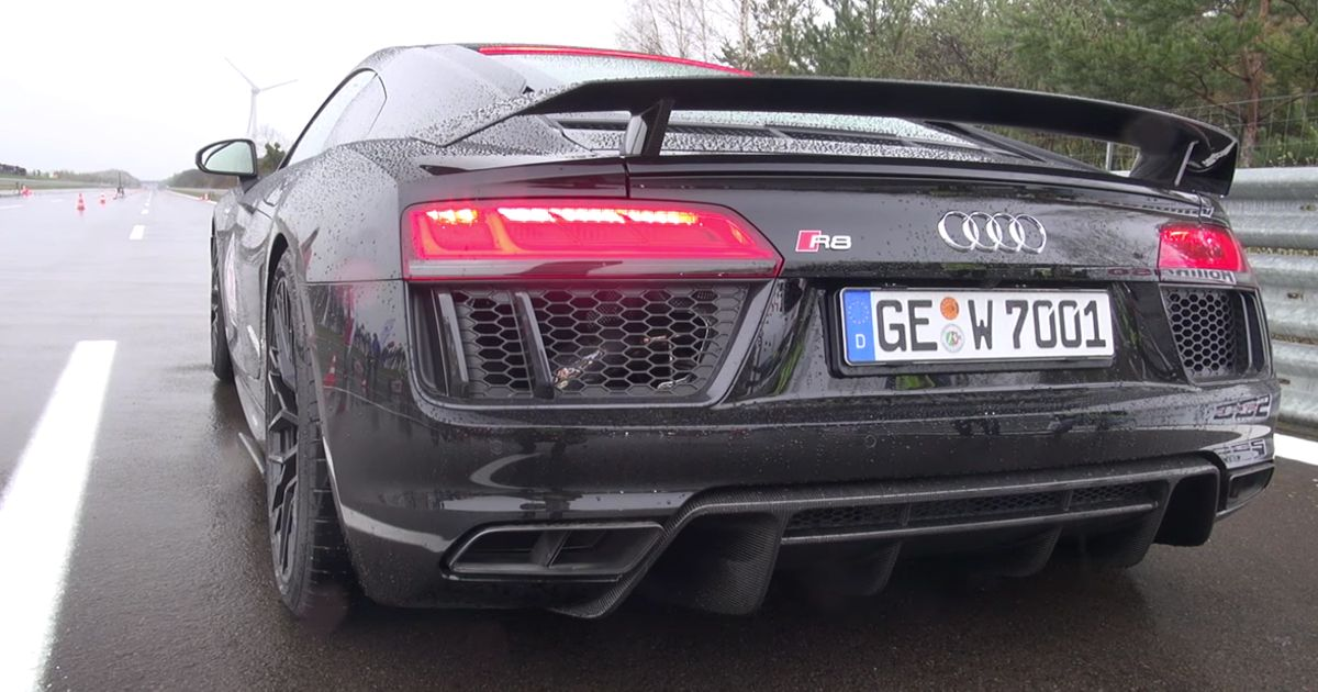 custom gtspirit with exhaust audi video capristo