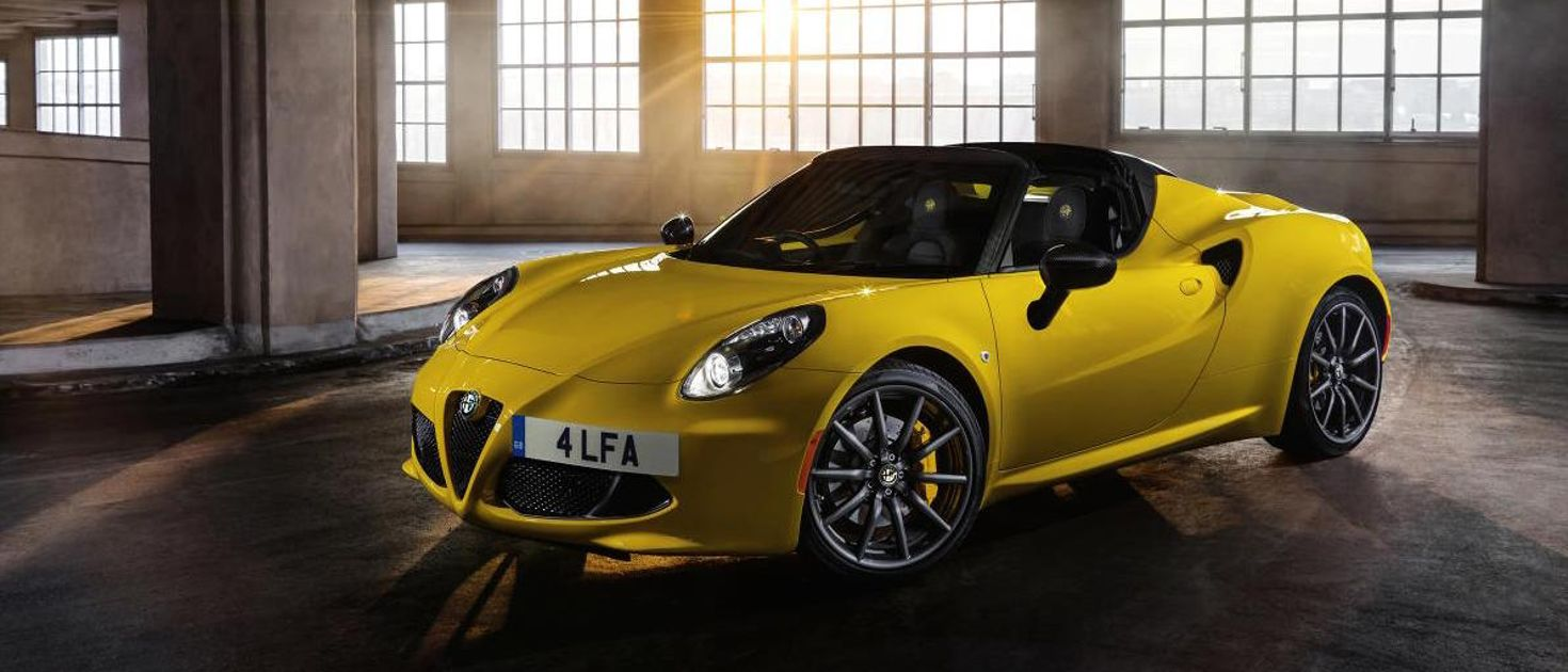 Alfa Romeo 4C Coupe and Spider review  it may look like a