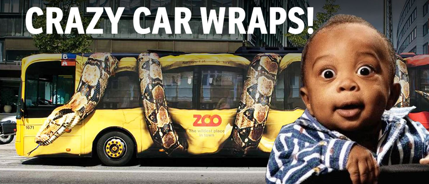 The 10 Craziest Car Wraps You Ll Ever See