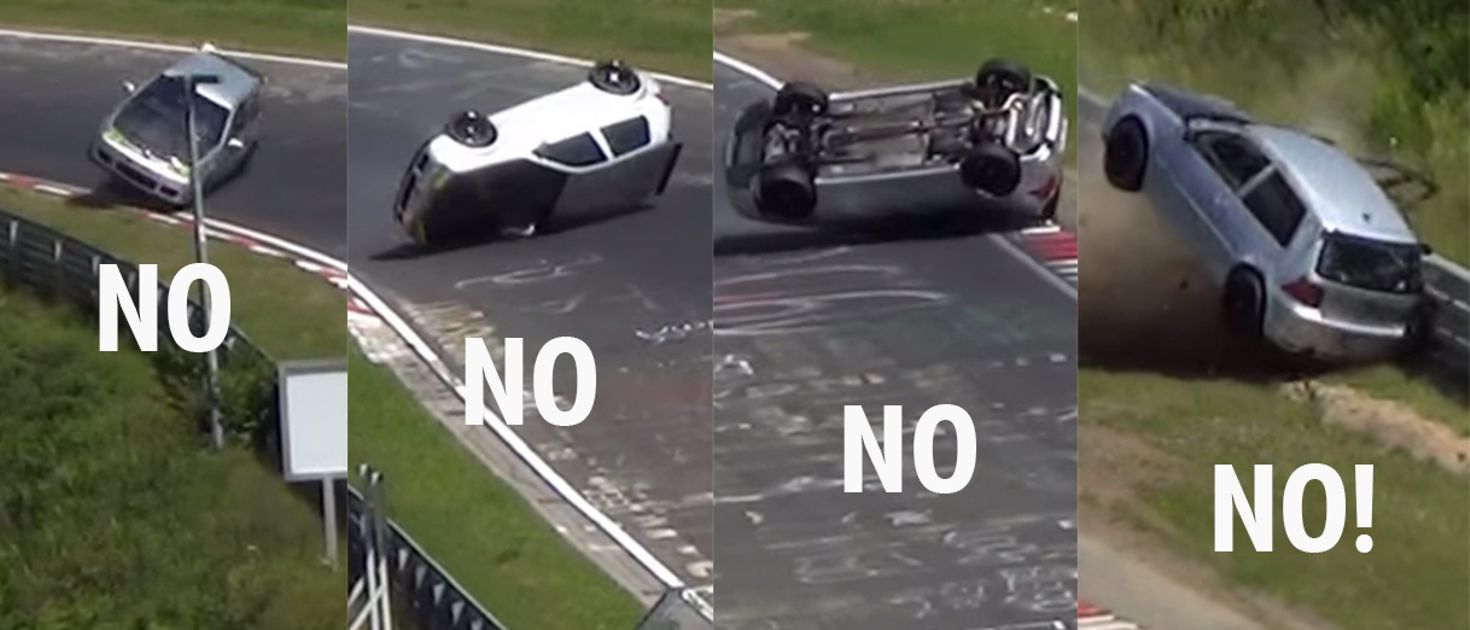 This Vw Golf R32 Crash Was Brutal And Cruel