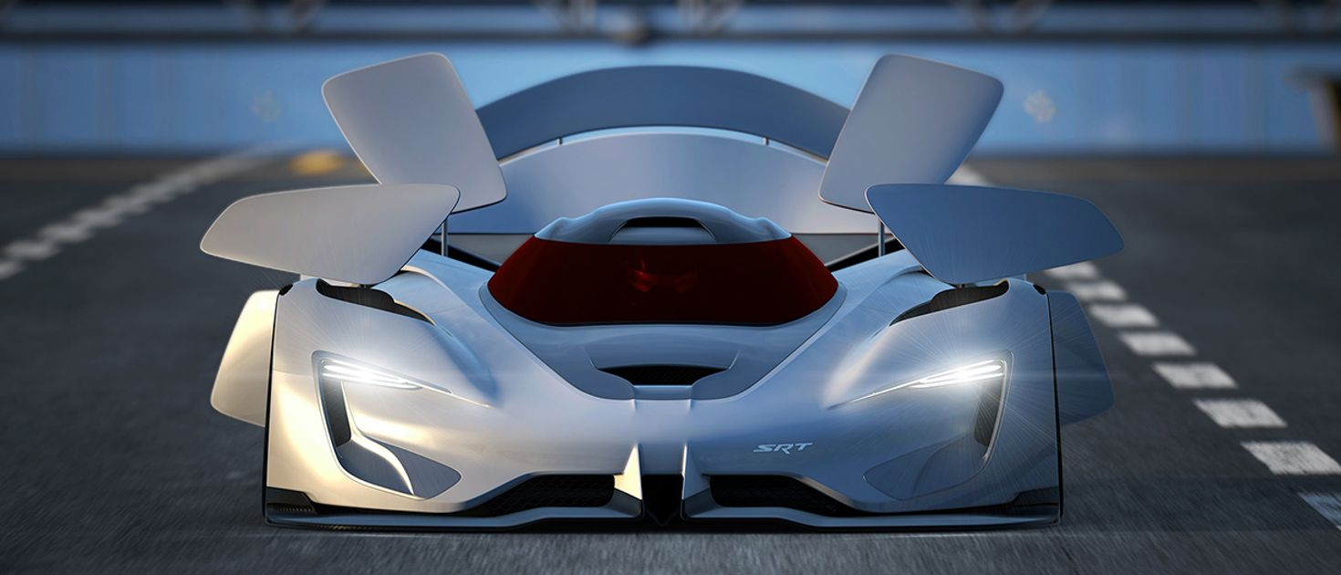 The Srt Tomahawk Vision Gt Concept Has The Most Bonkers