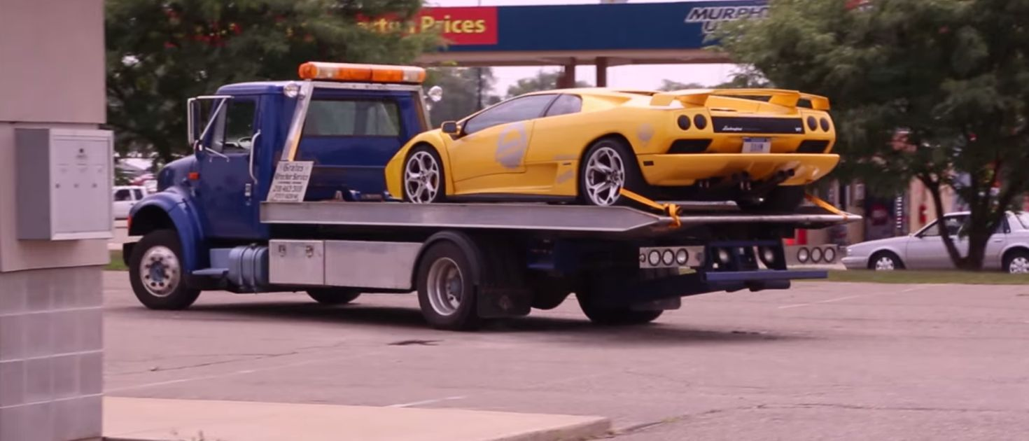 Here's Why Rob Dahm's Lamborghini Diablo Was Impounded By Cops
