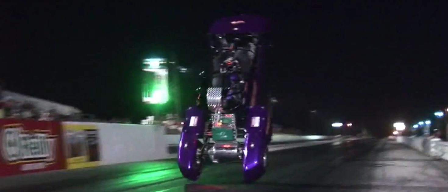 Proof That Wheelie Bars Are A Necessity When You Drive An