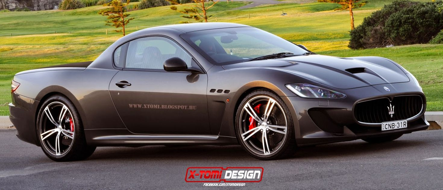 Sports Cars ReImagined As Hot Pickups - Hot sports cars