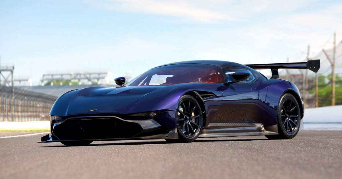 Somone Is Already Selling Their New Aston Martin Vulcan - Aston martin jobs