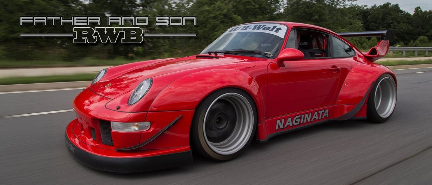 An Awesome Widebody 911 Is The Best Father Son Bonding