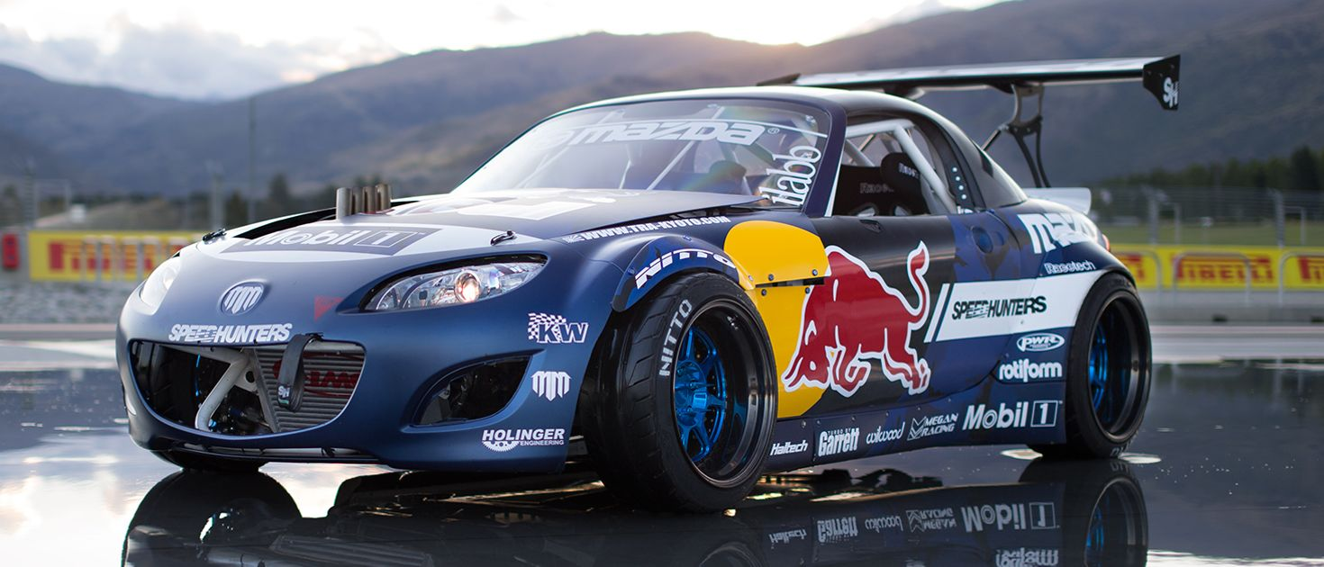 Say Hello To Mad Mike S Insane Four Rotor Mx 5 Drift Weapon