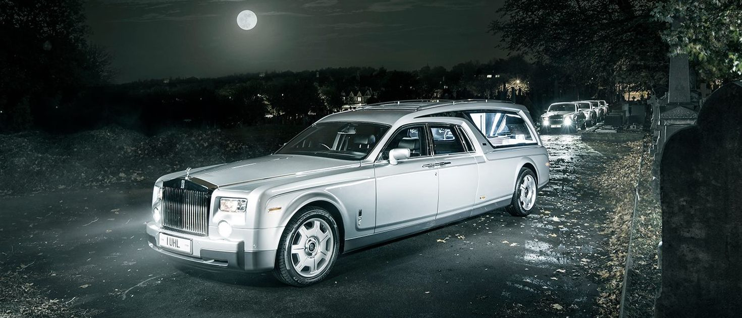 The World S First Rolls Royce Phantom Hearse Is Equal