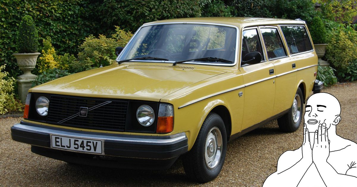 My eBay Crush Today Is This Classy, Low Mileage Volvo 245 DL Tank