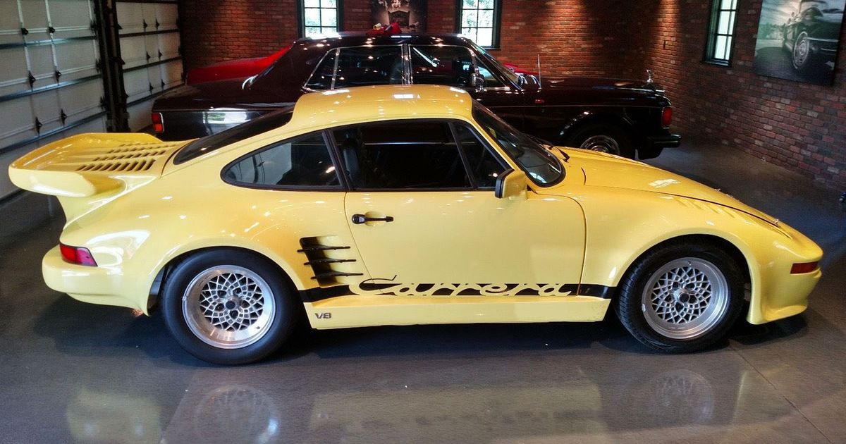 Would You Drive A Vintage Porsche 911 with a V8 for $30,000?