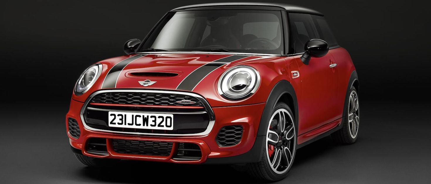 the spicy 228bhp mini john cooper works is here. Black Bedroom Furniture Sets. Home Design Ideas