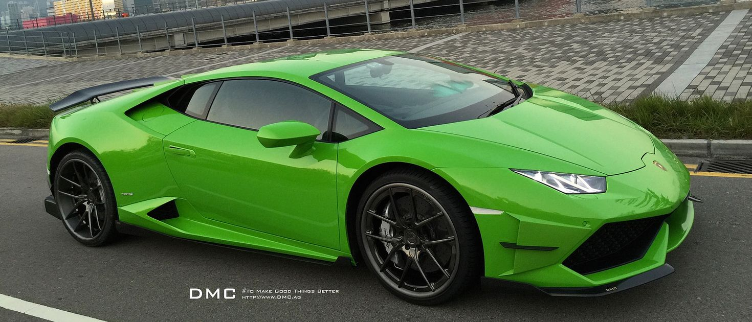 if you find the lamborghini huracan a little too subtle dmc has something up its sleeve