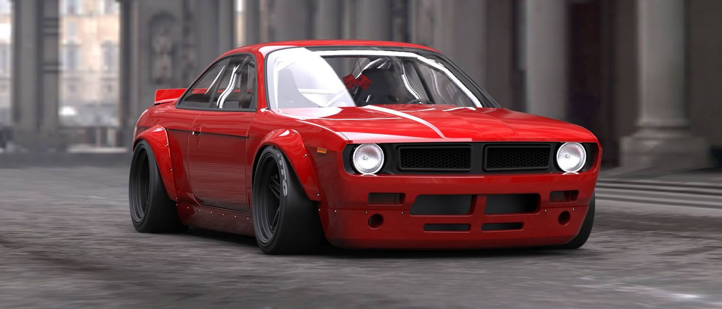 Make Your Nissan 200sx Look Like A Retro Muscle Car With This