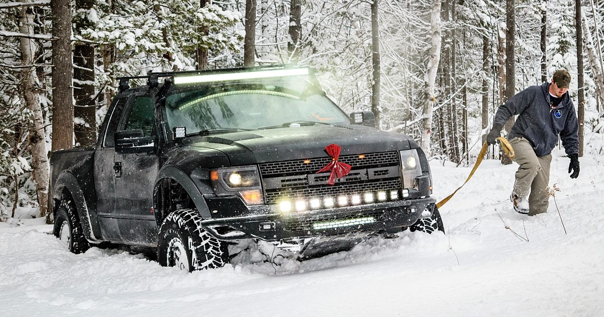 Meet The Dedicated Ford Raptor Owners Carving Up 700 Miles Of Michigan Snow Every Year