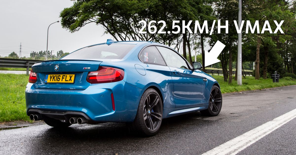 The Bmw M2 Laughs In The Face Of Its Official 155mph Top Speed