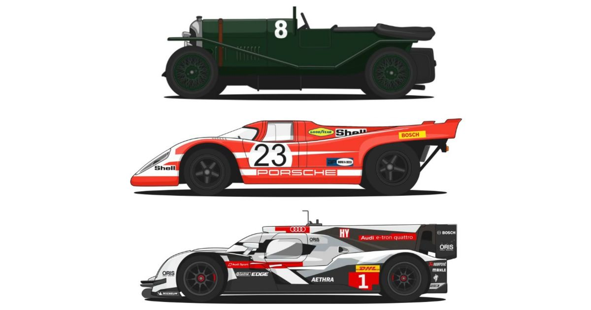 This Video Shows Off The Rapid Evolution Of Race-Winning Le Mans Cars