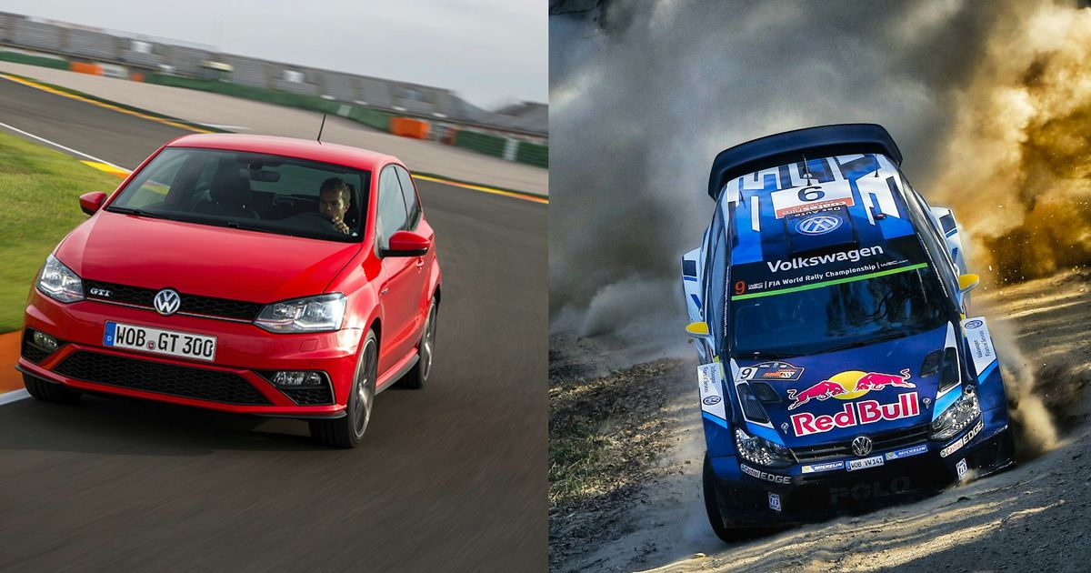 How Does A Vw Polo Wrc Car Differ To Its Road Going Counterpart