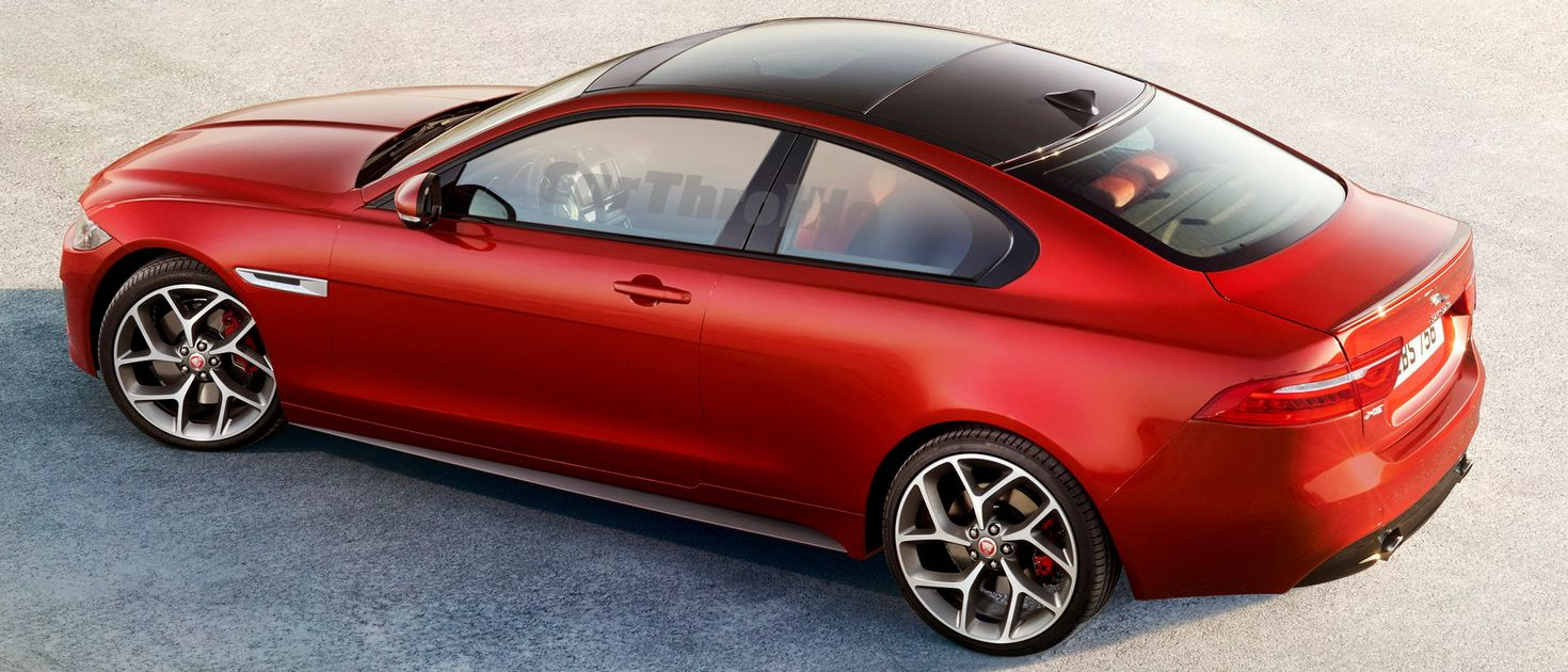Heres Proof That A Coupe Jaguar XE Would Be Insanely Hot