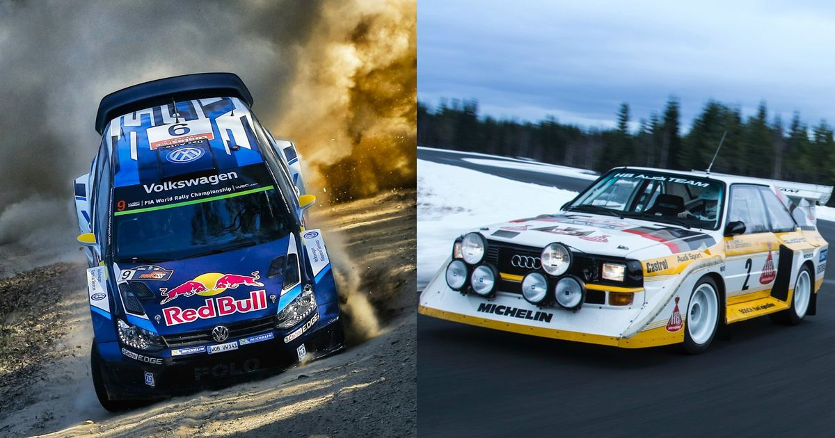 Here\'s How Current WRC Cars Compare To The Monstrous Group B Machines