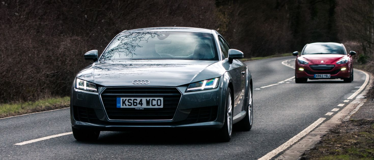 why i'd recommend the flawed peugeot rcz r over the superior audi tt