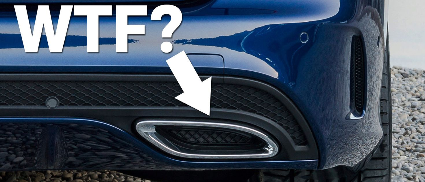 7 Fake Exhaust Pipes That Make Expensive Cars Look Cheap