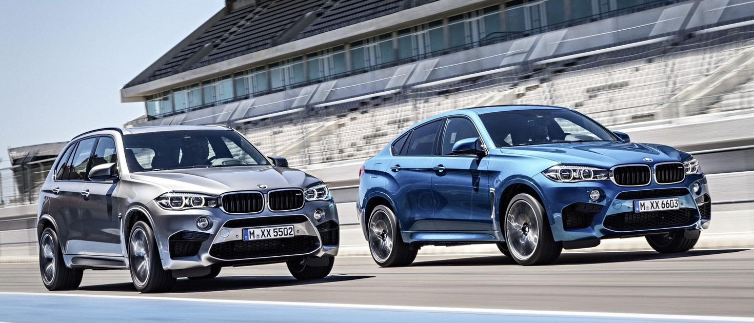 The New BMW X5 M And X6 M Are Monstrous SUVs With M5 Firepower