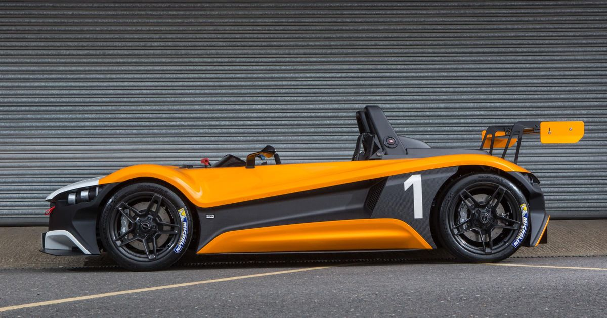 The Vuhl 05rr Is A Mexican Track Car With A Focus Rs Heart