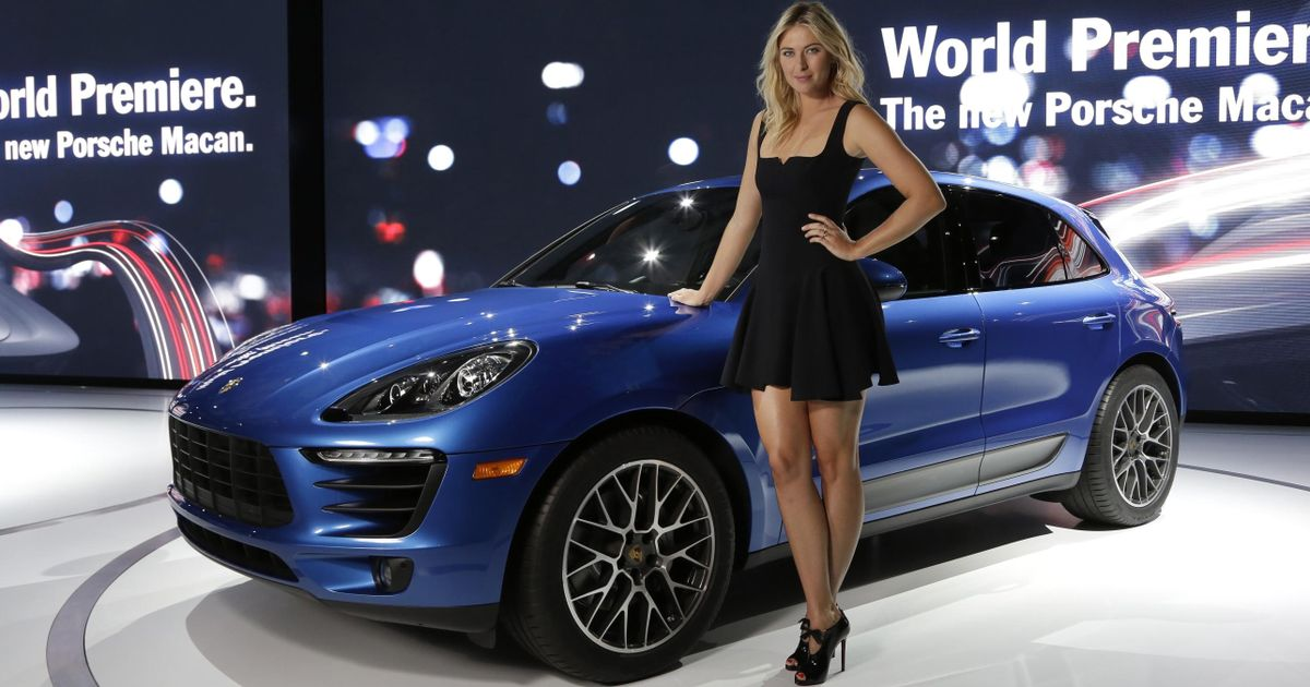 You Won T See Maria Sharapova Promoting A Porsche Any Time