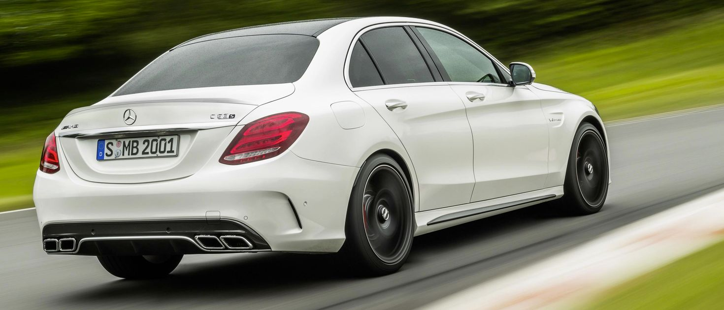 The New Mercedes Amg C63 Is A 503bhp Twin Turbo V8 Savage